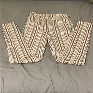 Stripped American eagle pants